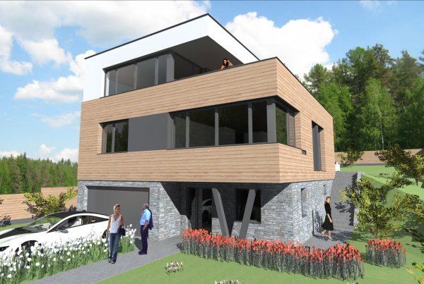 Moderný dom v Bratislave