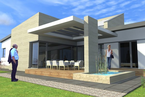 Moderný dom v Komárne