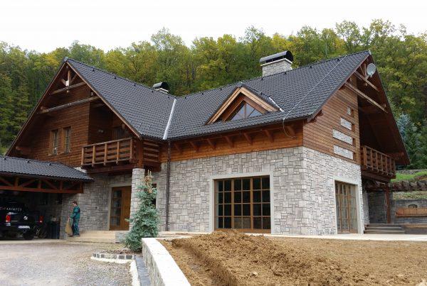 Horská chata v Zlatých Moravciach