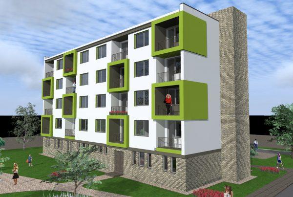 Rekonštrukcia bytového domu v Kameničnej