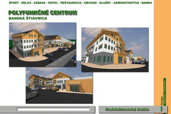 Polyfunkčné centrum Golem Banská Štiavnica
