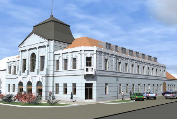 Rekonštrukcia budovy Banky v Zlatých Moravciach