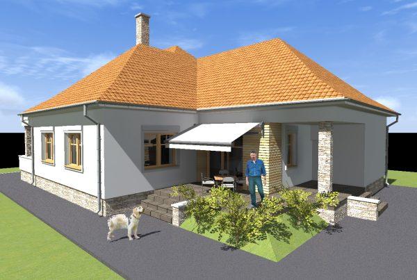 Prestavba tradičného domu v Bešeňove