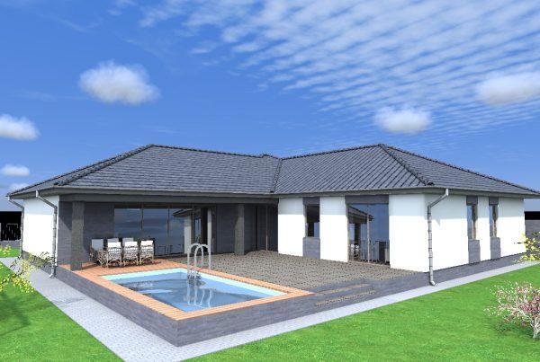 Moderný bungalov v Komárne